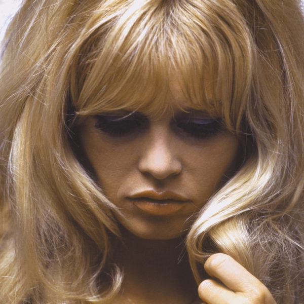 Brigitte Bardot Close up - Kirkland Douglas
