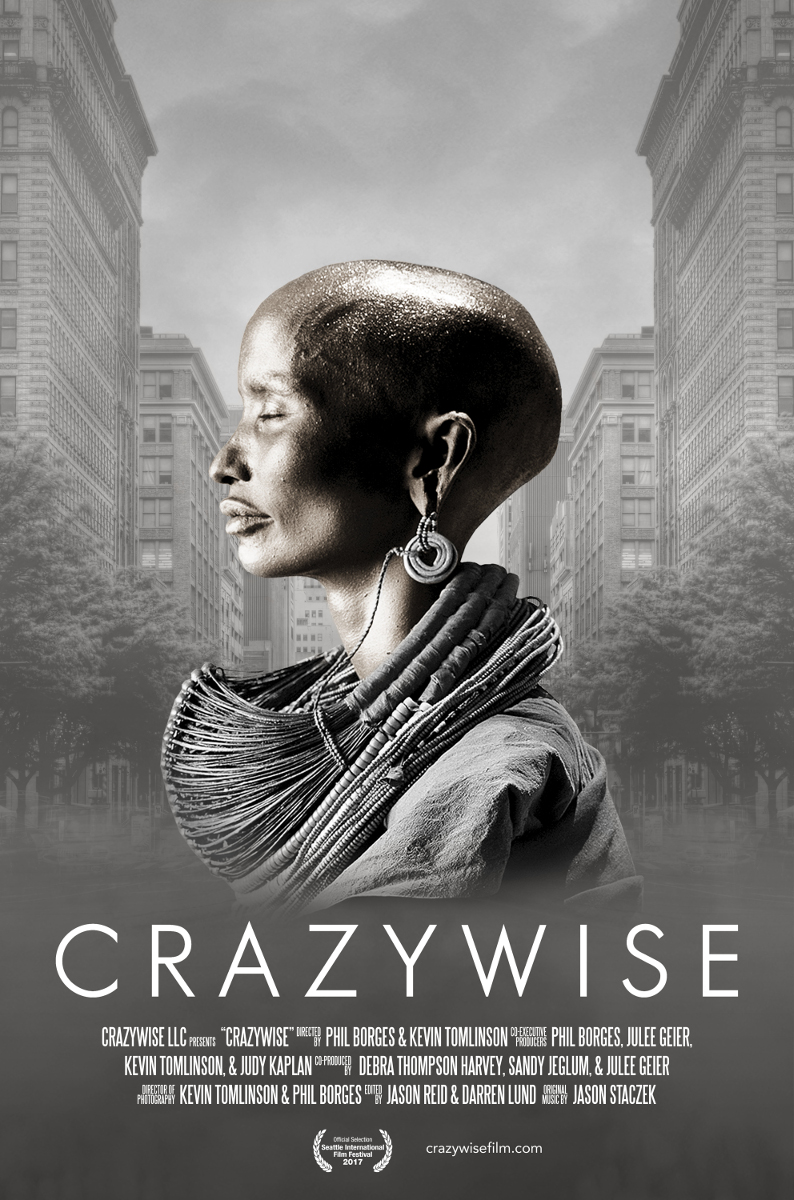 CRAZYWISE Poster - Phil Borges