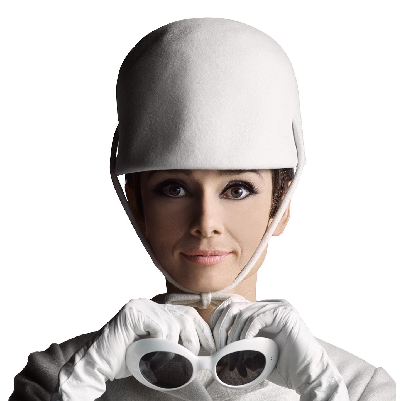Audrey Hepburn White
