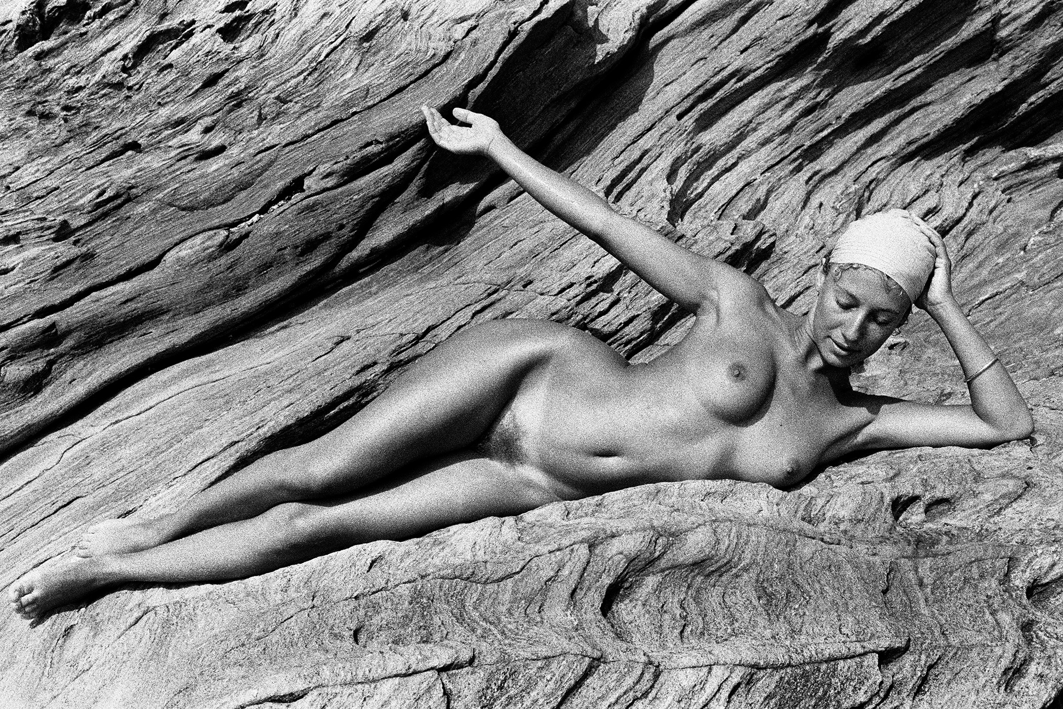 Nude on the rock